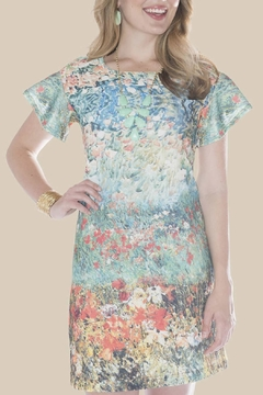 Shoptiques Product: Floral Watercolor Dress