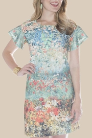 Ivy Jane / Uncle Frank  Floral Watercolor Dress - Product Mini Image