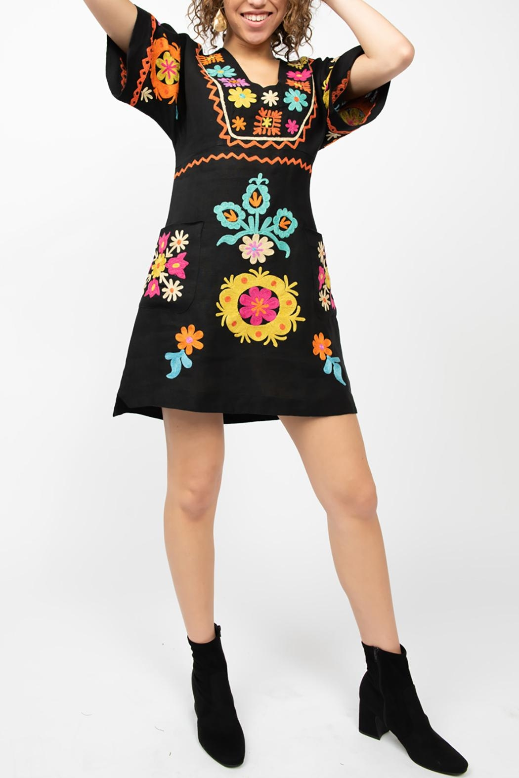 Ivy Jane / Uncle Frank  Kaleidoscope Dress - Front Full Image