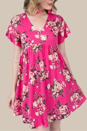 Ivy Jane / Uncle Frank  Pink Floral Dress - Product Mini Image