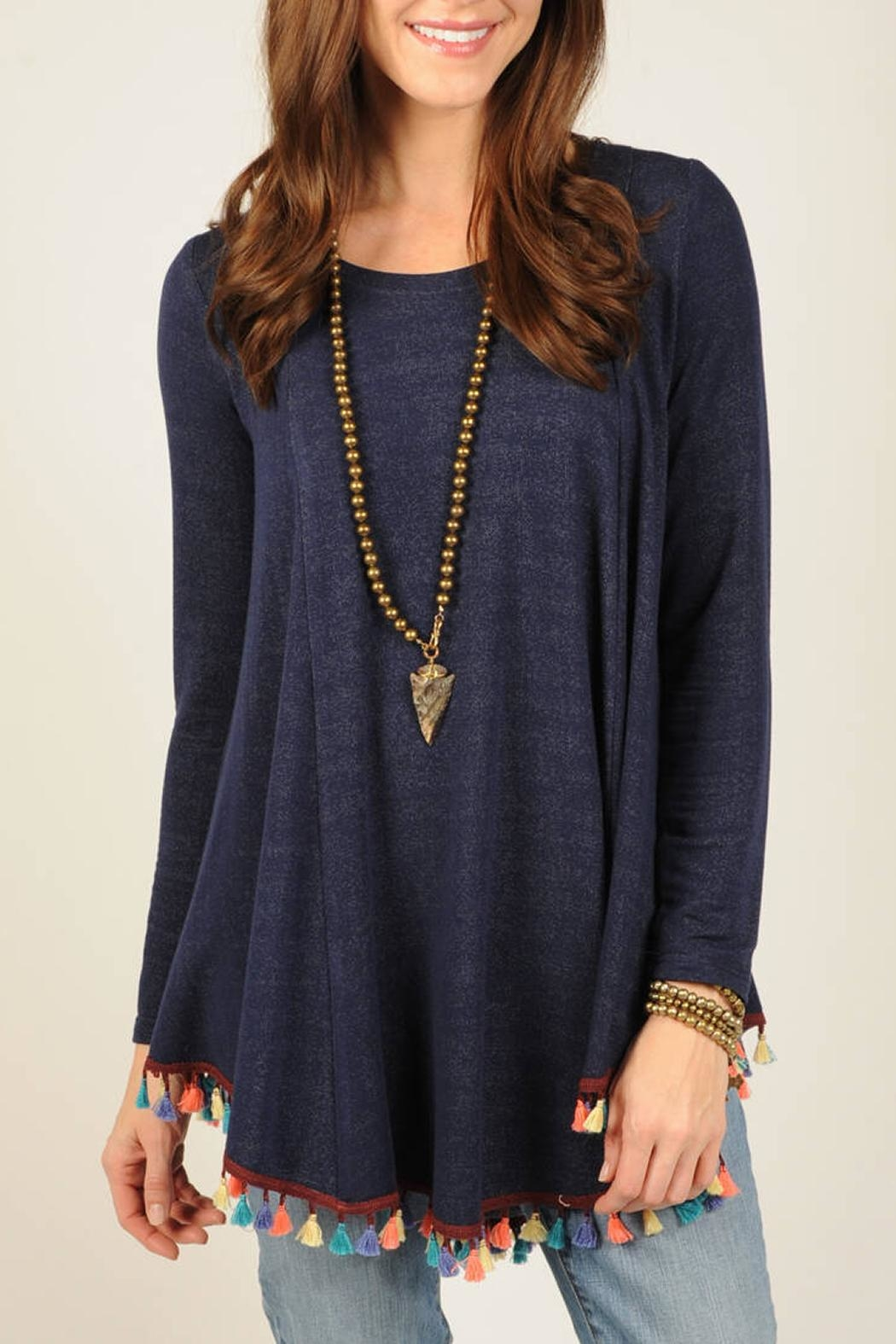 Ivy Jane / Uncle Frank  Tassel Hem Tunic - Main Image
