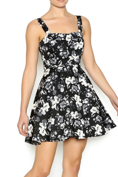 Shoptiques Product: Black White Floral Dress