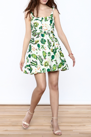 Ixia Fun Cactus Print Dress - Front full body