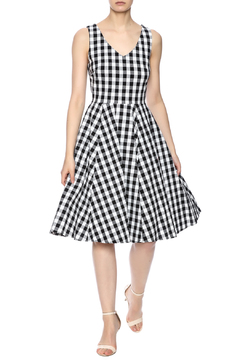 Shoptiques Product: Gingham Pocket Dress