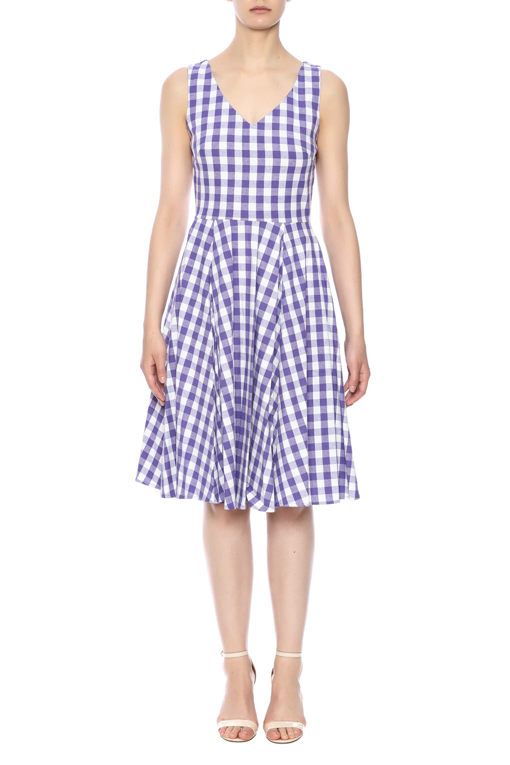 effeca3ba6c Ixia Gingham Pocket Dress from Florida by Mad Hatter General Store ...