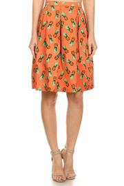 Shoptiques Product: Pineapple Flare Skirt - Front cropped