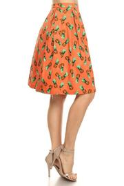 Shoptiques Product: Pineapple Flare Skirt - Front full body