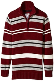 Izod Boys' Stripe Sweater - Front cropped