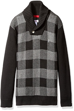 Izod Buffalo Plaid Sweater - Product List Image