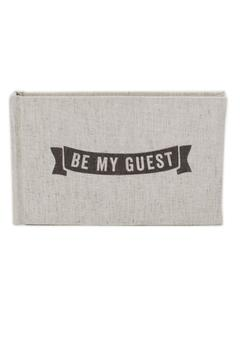 Shoptiques Product: Be-My-Guest Guest Book
