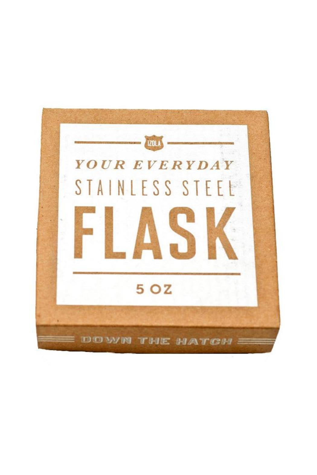 Izola Flask 5 Oz. - Front Full Image