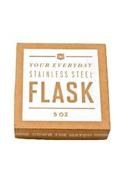Izola Flask 5 Oz. - Front full body
