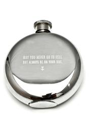 Izola Irish Saying Flask - Product Mini Image