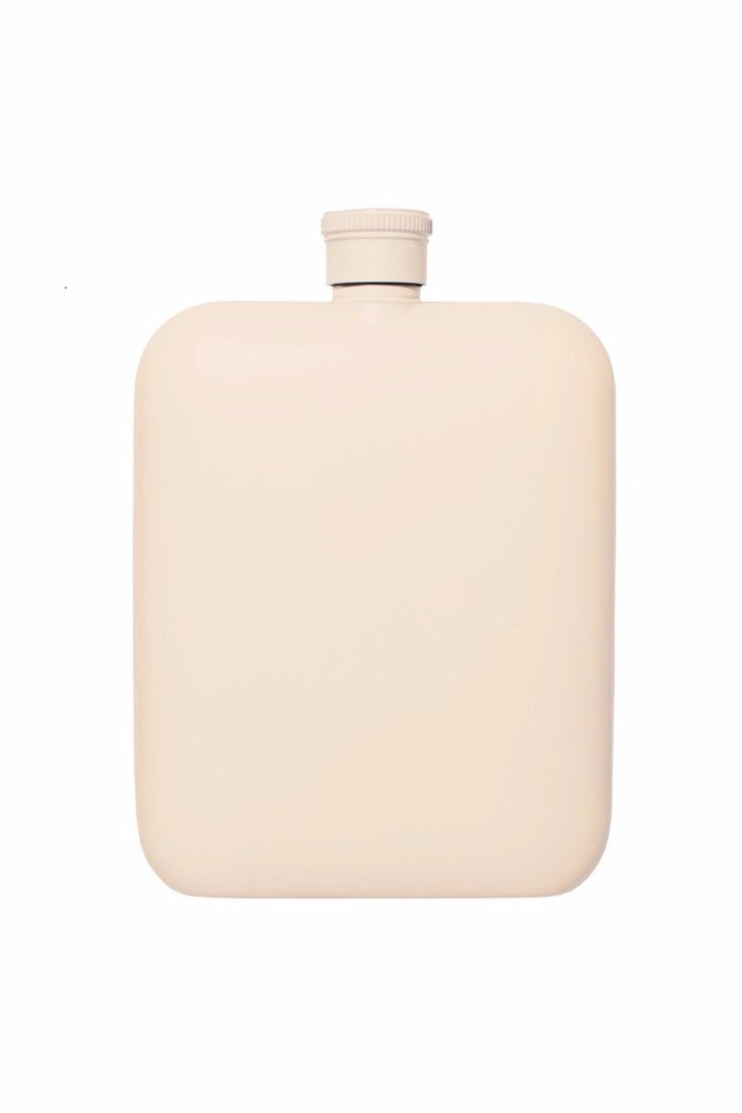 Izola Stainless Steel Flask - Front Full Image