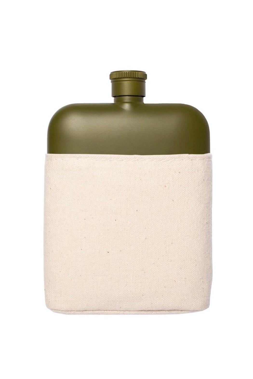 Izola Stainless Steel Flask - Front Cropped Image