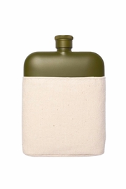 Izola Stainless Steel Flask - Front cropped