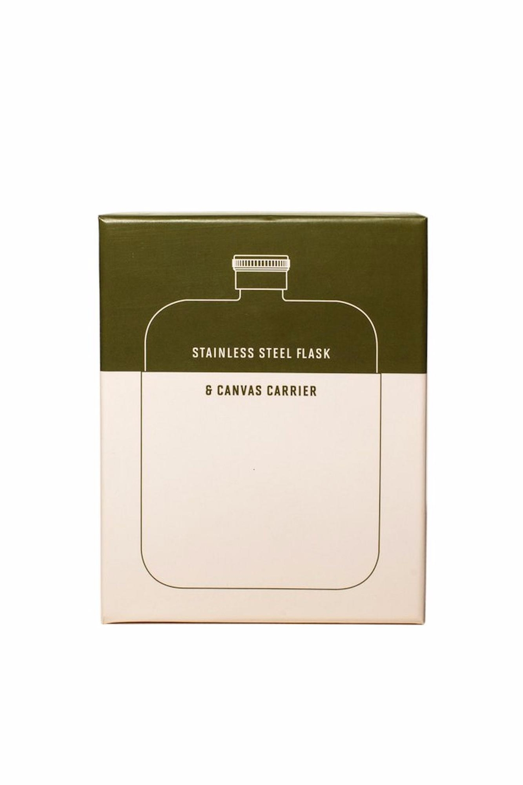 Izola Stainless Steel Flask - Side Cropped Image
