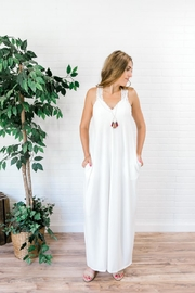 Izzie's Boutique Best White Maxi - Front cropped