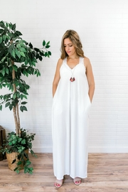 Izzie's Boutique Best White Maxi - Back cropped