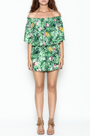 Izzy & Lola Tropical Newport Romper - Front full body