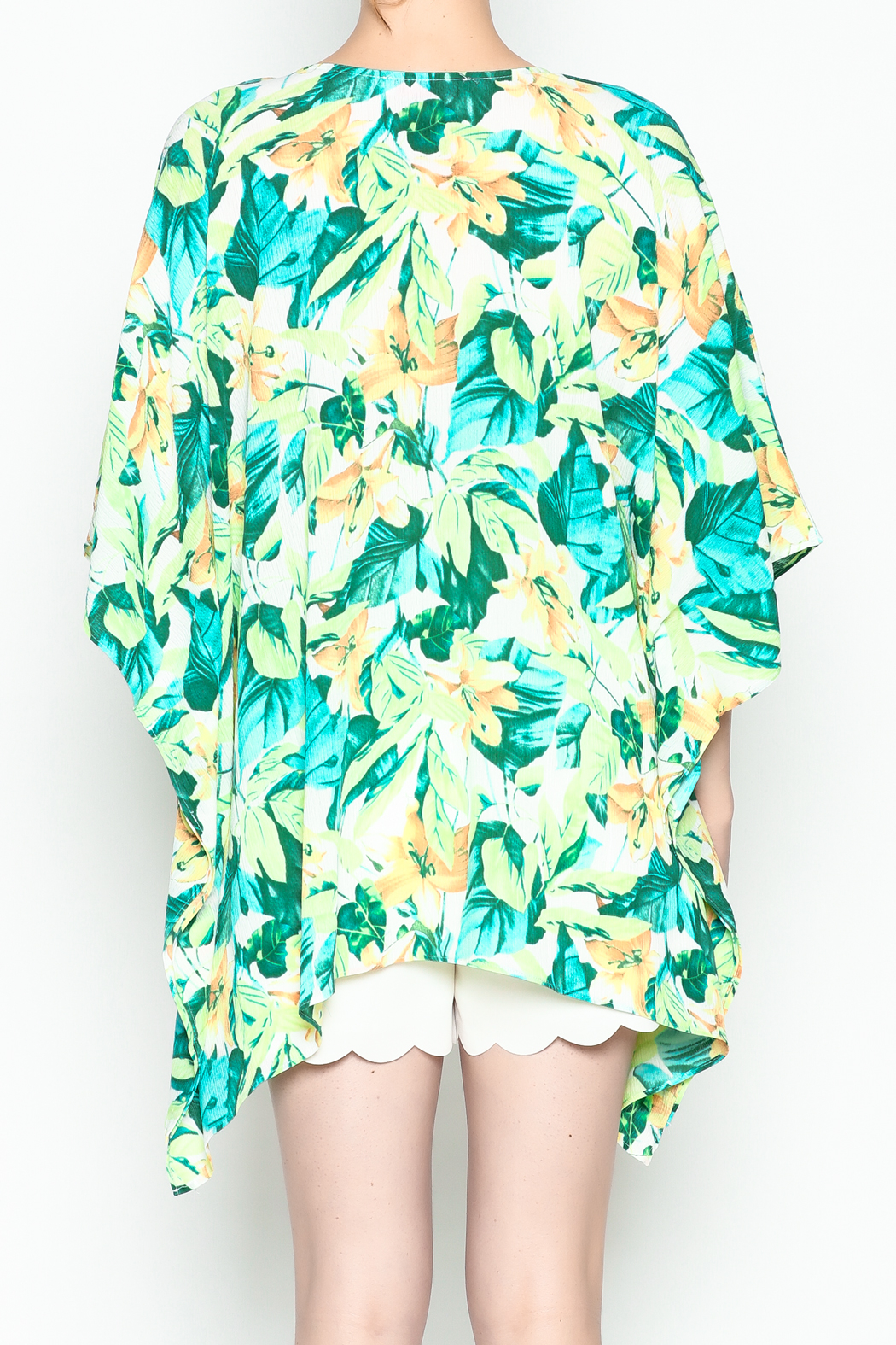 Izzy & Lola Tropical North Tunic - Back Cropped Image