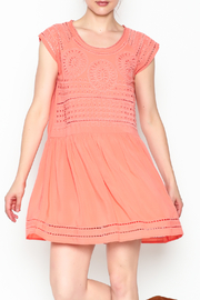 Izzy & Lola Tyra Peach Dress - Product Mini Image