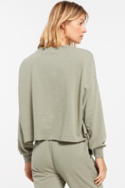 z supply Izzy Loop Terry Top - Side cropped