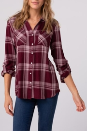 Thread & Supply Izzy Plaid Shirt - Front cropped