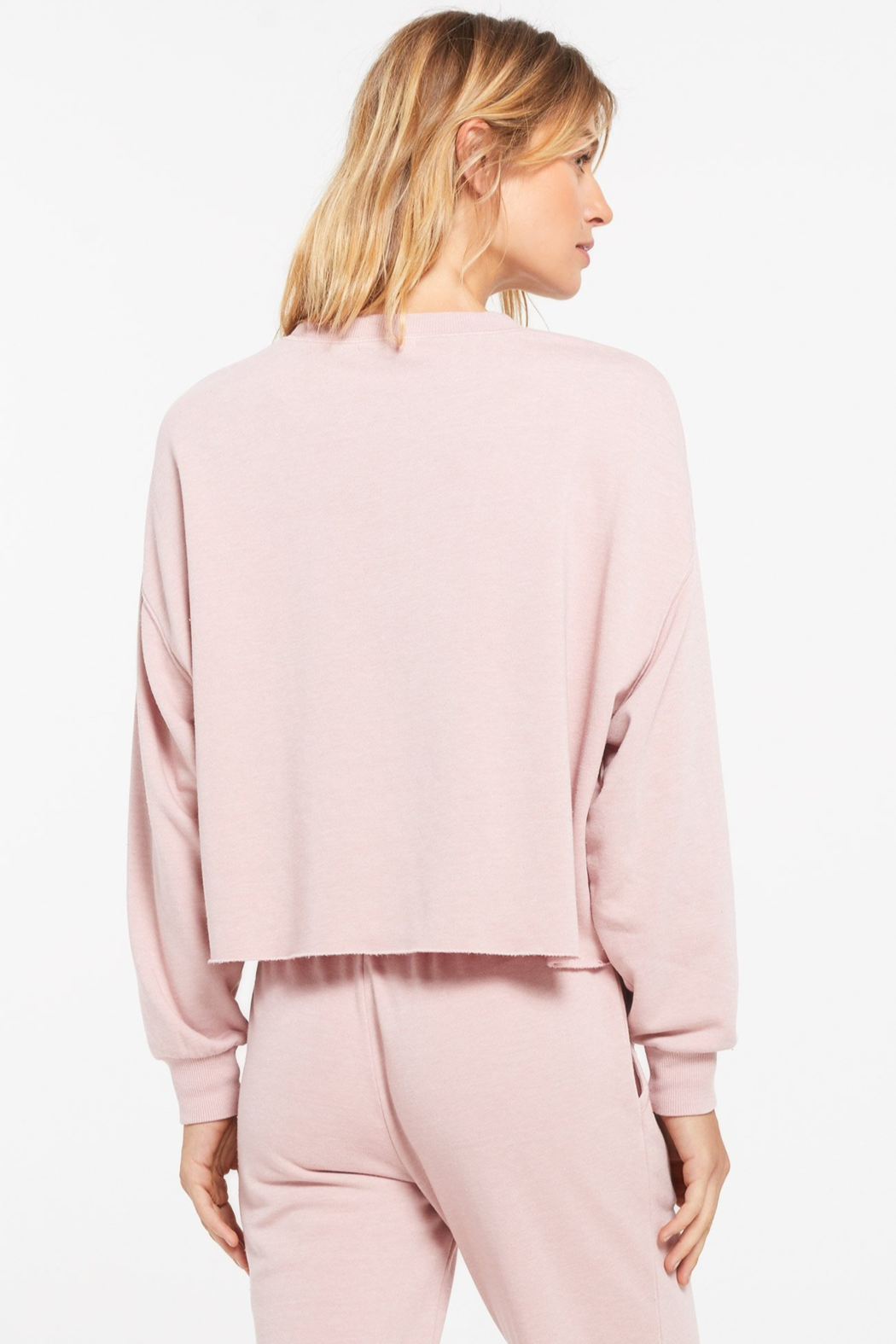 z supply Izzy Pullover Sweater - Side Cropped Image