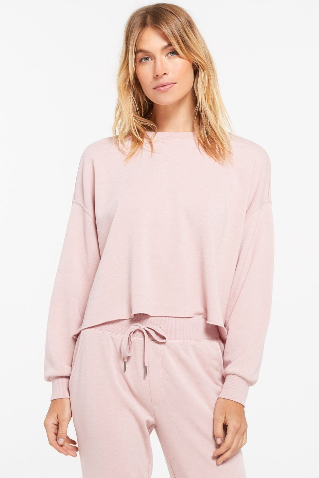 z supply Izzy Pullover Sweater - Front Cropped Image