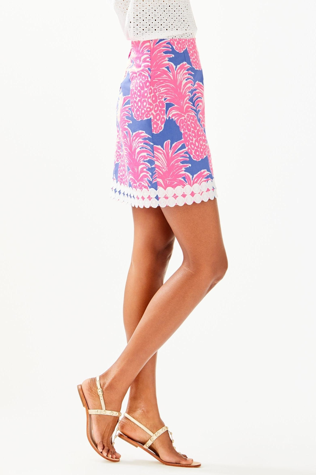 Lilly Pulitzer Izzy Skirt - Side Cropped Image