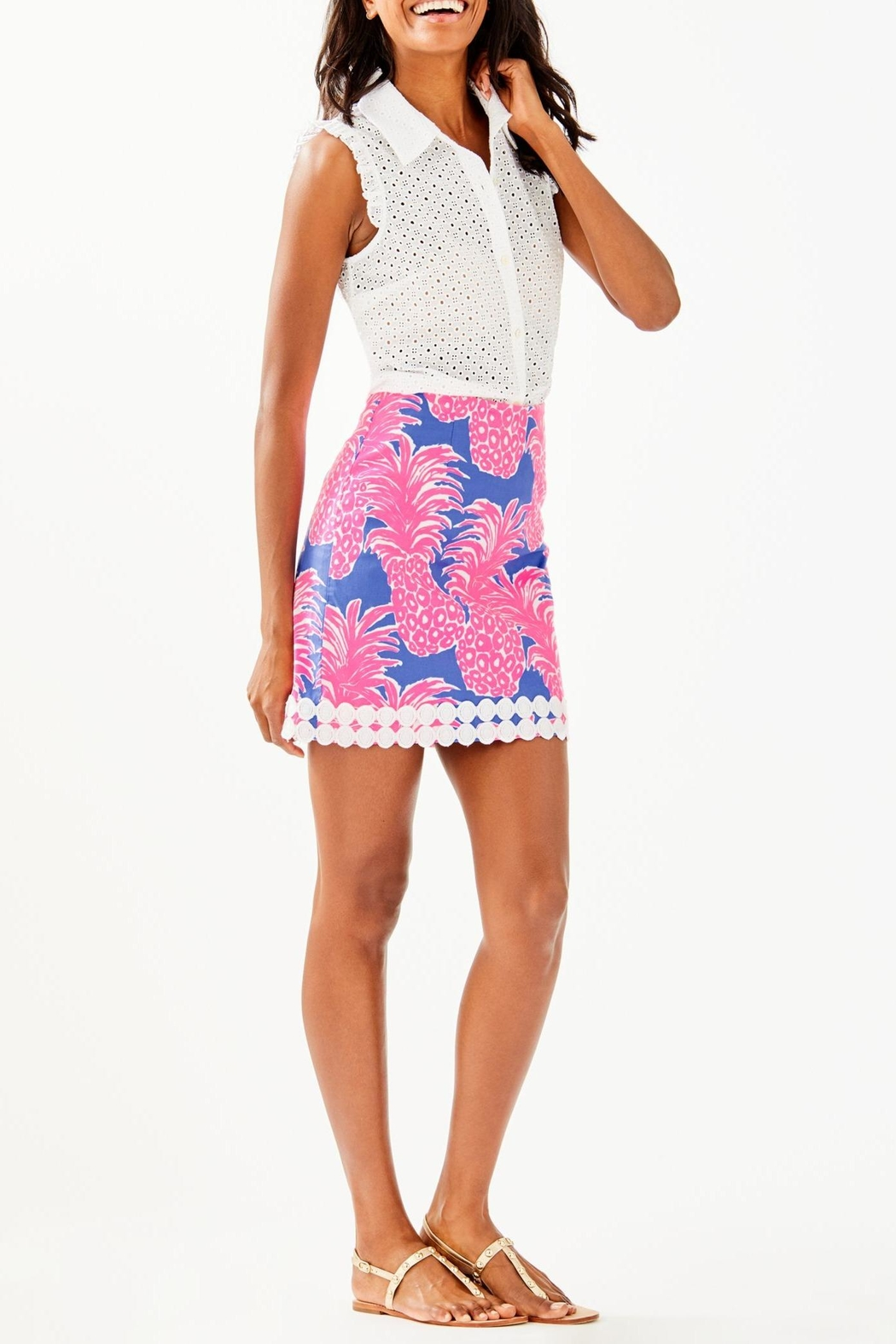 Lilly Pulitzer Izzy Skirt - Back Cropped Image