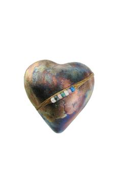 Shoptiques Product: Raku Heart Rattle
