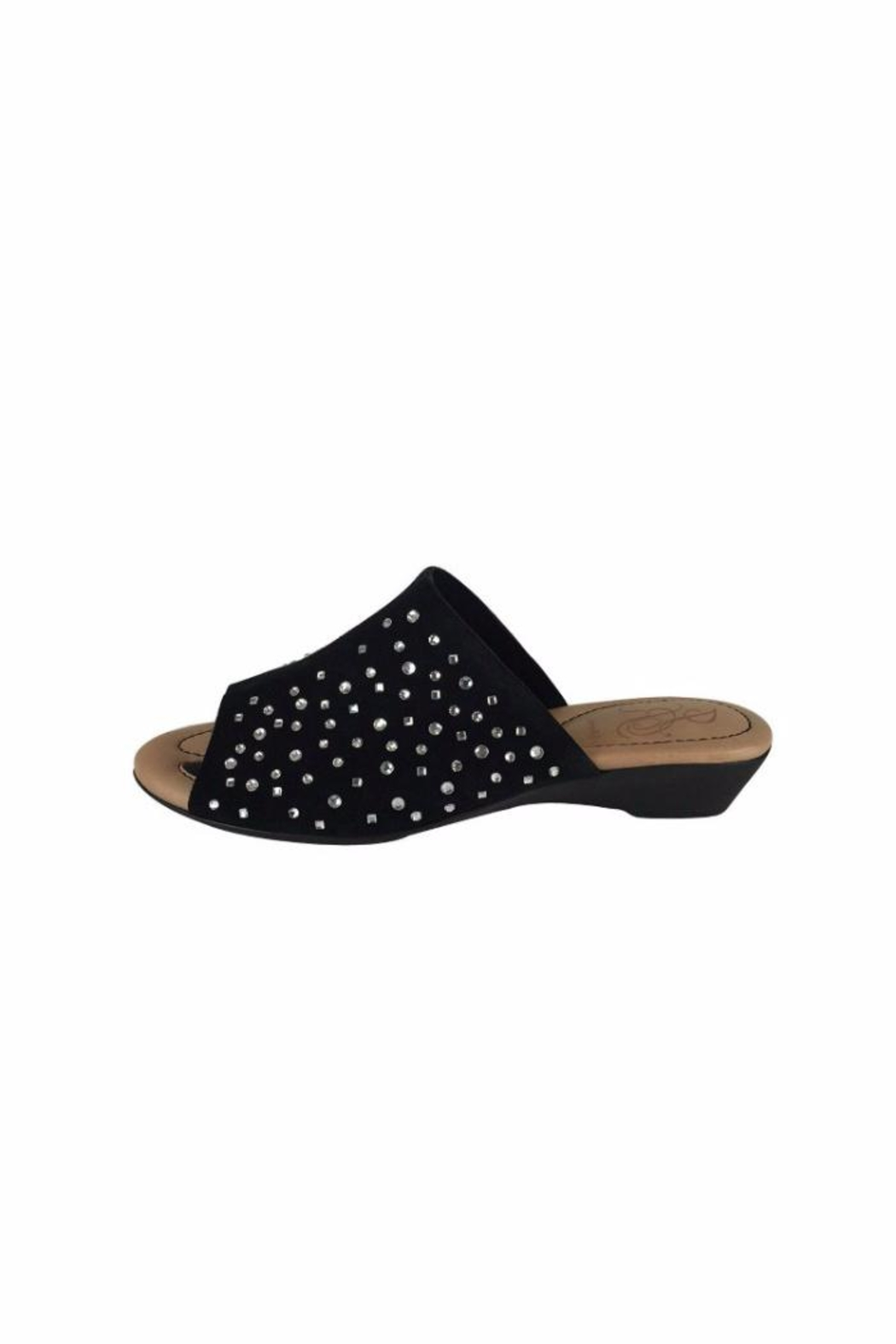 J. Renee Studded Sandals - Front Cropped Image
