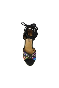 J. Renee Lace-Up Espadrille Wedge - Alternate List Image