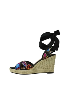J. Renee Lace-Up Espadrille Wedge - Product List Image