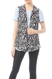 J'envie Black Print Vest - Product Mini Image