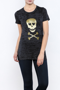 Shoptiques Product: Girlie Skull Tee