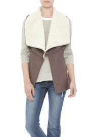 J N K USA Shearling Vest - Product Mini Image