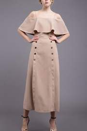 J.O.A. Cold Shoulder Midi Dress - Product Mini Image