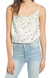 J.O.A. Cowl Neck Bodysuit - Front cropped