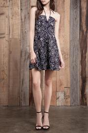 J.O.A. Floral Halter Dress - Product Mini Image