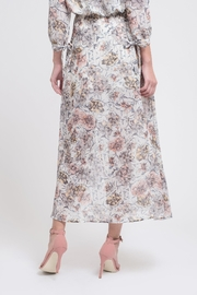 J.O.A. Floral Maxi Skirt - Side cropped