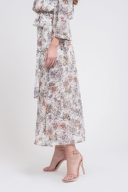 J.O.A. Floral Maxi Skirt - Front full body