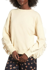 J.O.A. Fringe Sweatshirt - Product Mini Image