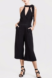 J.O.A. Black Sleeveless Jumpsuit - Product Mini Image