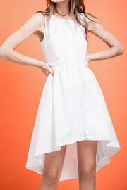 J.O.A. Hidden Placket Dress - Front cropped