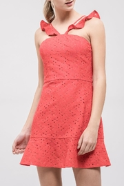 J.O.A. Lace Fit-&-Flare Dress - Product Mini Image