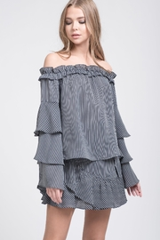 J.O.A. Offshoulder Ruffle Top - Product Mini Image