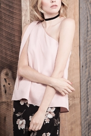 J.O.A. Blush Sleeveless Blouse - Product Mini Image